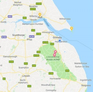 Area Map Kids Entertainer Lincolnshire