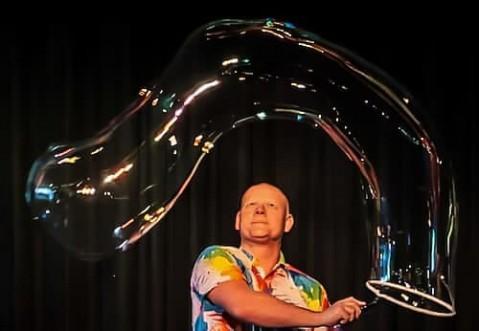 Mr Shiney Bubble Magic for Children